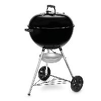 Cuisine Exterieure WEBER Barbecue a charbon Original Kettle E-5710 - Acier chromé - Ø 57 cm