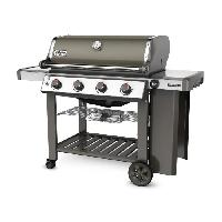 Cuisine Exterieure WEBER Barbecue a gaz Genesis II E-410 GBS - Acier émaillée - Gris fumée