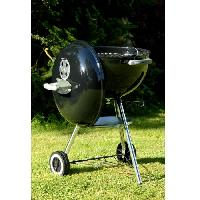 Cuisine Exterieure WEBER Barbecue charbon Classic Kettle 47 cm thermometre Charcoal Grill