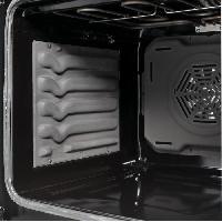 Cuisiniere - Piano De Cuisine CONTINENTAL EDISON Cuisiniere 50x60 Double fours electrique - 4 feux blanc