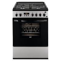 Cuisiniere - Piano De Cuisine FAURE FCM656HPSA cuisiniere table mixte gaz - electrique - 4 foyers - Four electrique - Pyrolyse - 54 L - A - L 60 x H 88.9 cm