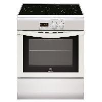 Cuisiniere - Piano De Cuisine INDESIT I63IIP6M-W--FR - Cuisiniere table Induction-3 zones-Four electrique-Pyrolyse-59L-A-L60xH85cm-Blanc