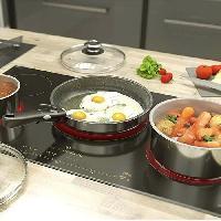 Cuisson Des Aliments BACKEN 392009 - Batterie de cuisine - Set de Poeles et Casseroles - Inox - 9 Pieces - Tous Feux dont Induction