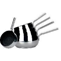 Cuisson Des Aliments Chaudron serie de 5 casseroles - 12 14 16 18 20 cm - Sans PFOA - Tous feux dont induction