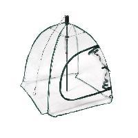 Culture Indoor Serre souple parapluie - Forme carrée - Housse en PVC 0.09 - Ouverture zip - Aucune