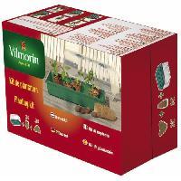 Culture Indoor VILMORIN Kit serre rigide + 24 godets 6 cm + 24 pastilles coco