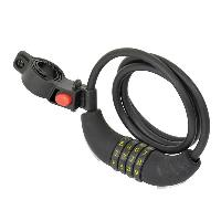 Cycles Antivol Cable 120-8 Avec Code Dresco