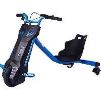 Cycles BEEPER RDT100B Driftrike electrique - 12V 6.4Ah - 100W - Bleu - Enfant