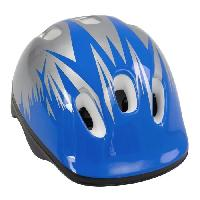 Cycles Casque velo enfant. bleu et blanc. taille - 52 - 56 cm. Aucune