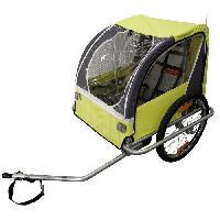 Cycles DURCA Remorque vélo pour 2 enfants - Poids max : 36 kg