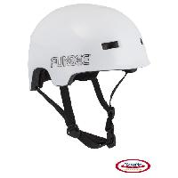 Cycles FUNBEE - Casque bol adulte - blanc (m=54-58) - Darpeje