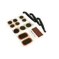 Cycles Kit De Reparation De Pneux Rustines+Colle+Demonte Pneu+Abrasif