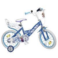 Cycles LA REINE DES NEIGES Vélo Enfant fille - 16 - 5/8 ans - Bleu Aucune