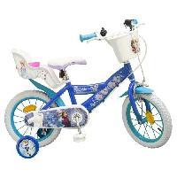 Cycles LA REINE DES NEIGES Vélo Enfant fille 14 -4/7 ans- Bleu Aucune