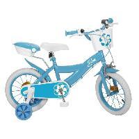 Cycles Mon Velo 14 Equipe - Enfant Fille - Bleu Aucune