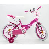 Cycles Mon Velo 14 Equipe - Enfant Fille - Rose Aucune