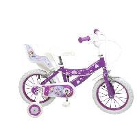 Cycles PRINCESSE SOFIA Velo Enfant fille - 14 - 4-7 ans - Violet Aucune