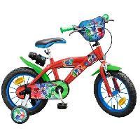 Cycles PYJAMASQUES Vélo Enfant - 14 -4/7 ans-Rouge Aucune