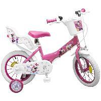 Cycles Vélo 14 Minnie - Fille - Rose Aucune