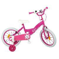 Cycles Vélo 16 Pneus gonflables - Enfant fille - Rose Aucune