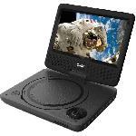 D-JIX PVS 706-20 Lecteur DVD portable 7 rotatif Djix