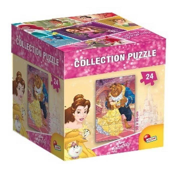 DISNEY-PRINCESSES-puzzle-Belle-Lisciani-Giochi