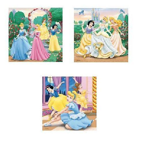 DISNEY-PRINCESSES-Puzzle-3-x-49-pcs-Disney-Ravensburger