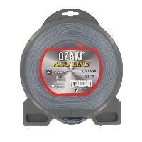 Debroussailleuse - Accessoire JARDIN PRATIQUE Fil nylon alu line OZAKI pour debroussailleuse - D 2.5 mm - L 81 m