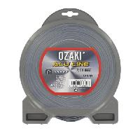 Debroussailleuse - Accessoire JARDIN PRATIQUE Fil nylon alu line OZAKI pour debroussailleuse - O- 2 mm - L 126 m - Generique