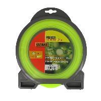 Debroussailleuse - Accessoire JARDIN PRATIQUE Fil nylon rond premium line OZAKI pour debroussailleuse - D 2.4 mm - L 44 m
