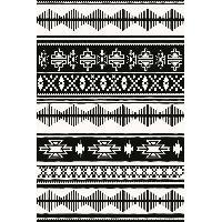 Deco - Linge - Luminaire AASTORY Tapis 100% vinyle VIF 21793 - 1.5 mm - 120 x 180 cm - Noir - Made In France