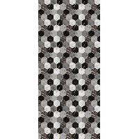 Deco - Linge - Luminaire AASTORY Tapis 100% vinyle VIF 32956 - 1.5 mm - 49.5 x 112 cm - Noir - Made In France