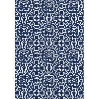 Deco - Linge - Luminaire AASTORY Tapis 100% vinyle VIF 35917 - 1.5 mm - 66 x 95 cm - Bleu - Made In France