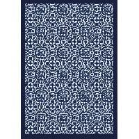 Deco - Linge - Luminaire AASTORY Tapis 100% vinyle VIF 35921 - 1.5 mm - 66 x 95 cm - Bleu - Made In France