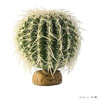 Decoration Artificielle - Resine - Led - Fond De Decor Decoration Cactus Oursin