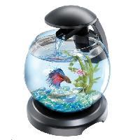 Decoration De L'habitat Aquarium Tetra Cascade Globe Noir