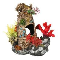 Decoration De L'habitat EBI Decor Artefact coule 1 - 16.5x12.5x17.8 cm - Pour aquarium