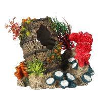 Decoration De L'habitat EBI Decor Artefact coule 2 - 15.3x11.6x13.7 cm - Pour aquarium