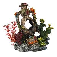 Decoration De L'habitat EBI Decor Artefact coule 3 - 14.5x9x16.7 cm - Pour aquarium