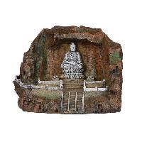 Decoration De L'habitat EBI Decor Bouddha Cave - 20x15x15 cm - Pour aquarium