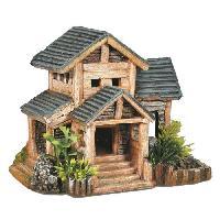 Decoration De L'habitat NOBBY Aqua deco Vieille maison - 185x125x150mm - Pour aquarium