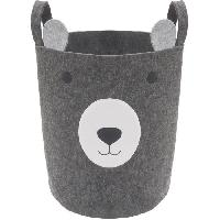 Decoration De L'habitat ROSEWOOD Felt Bear Basket - Gris - Pour chien