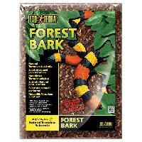 Decoration De L'habitat Substrat naturel Forest Bark 4.4 L - Pour terrarium