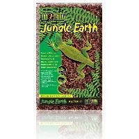 Decoration De L'habitat Substrat naturel Jungle Earth 8.8 L - Pour terrarium