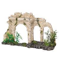 Decoration De L'habitat VADIGRAN Aqua Deco Porte a trois arches - 25 x 6.5 x 15 cm