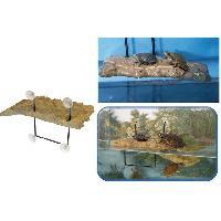 Decoration De L'habitat ZOOMED Ilôt flottant - PM - Pour tortue aquatique