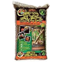 Decoration De L'habitat ZOOMED Substrat naturel - Fibre de coco compressee - Pour reptile - 8.8 L