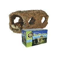 Decoration De L'habitat ZOOMED Tronc creux flottant en resine - Pour tortue aquatique - Generique