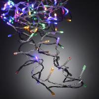 Decoration De Noel AUTOUR DE MINUIT Guirlande 50 LED - 5 m - Multicolore