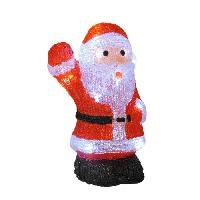 Decoration De Noel AUTOUR DE MINUIT Pere noël saluant - 16 LED - H 26cm Aucune